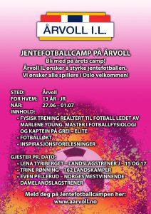 Jentefotballcamp 2016